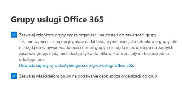 Poziom Grup Office365